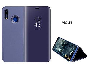 best service 63e0c 48d9c SHIEID Huawei Nova 3i Mirror Plating Flip Case With sleep/wake ...