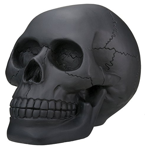Black Collectible Skeleton Decoration Statue
