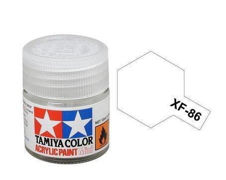 (Tamiya Acrylic Mini XF86 Flat Clear 10ml Bottle)