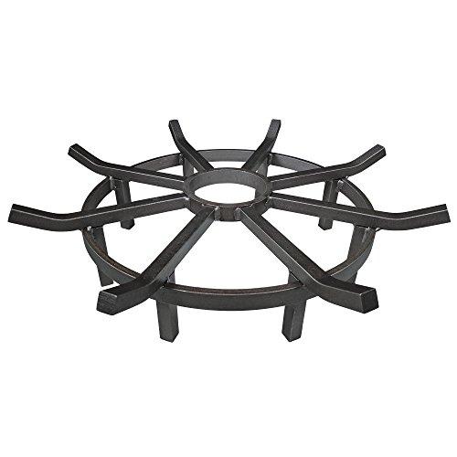 Titan 24″ Wagon Wheel Fire Grate Review