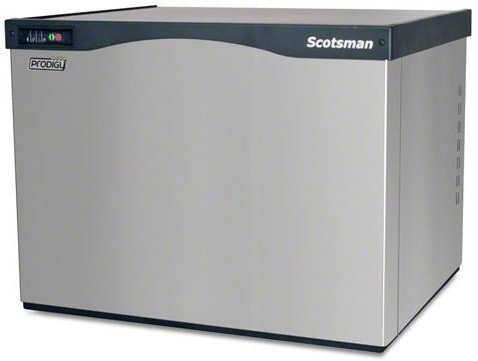 Production 30 Inch Wide Ice Maker - Scotsman C0530SA-1A Air Cooled 525 Lb Small Cube Ice Machine