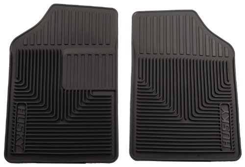 Husky Heavy Duty Floor Mats, 2pc Front Mats, Color: Black 51051