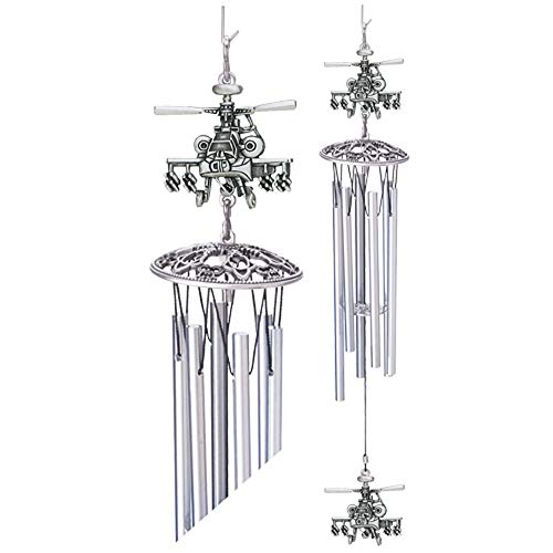 Heritage Pewter Helicopter Wind Chime from Heritage Pewter