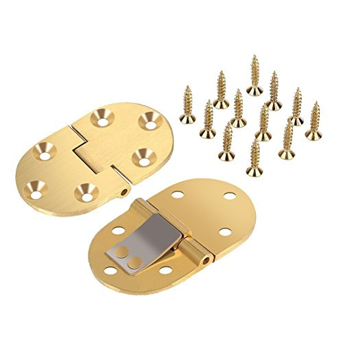 Table Butler Hinges (Solid Brass Butler Tray Hinge 2-1/2