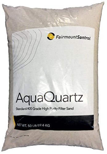 (Alek...Shop Aquaquartz Commercial Residential Swimming Pool Filter Sand, 20 Grade, 50 Lbs/Bag)
