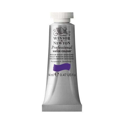 Winsor & Newton Artists' Water Colour Paint 14ml Tube - Winsor Violet Dioxide by Winsor & Newton ()