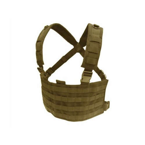 Condor MCR4 OPS Operator MOLLE Tactical Chest Rig - Tan MCR4-003 (Condor Modular Chest Rig compare prices)