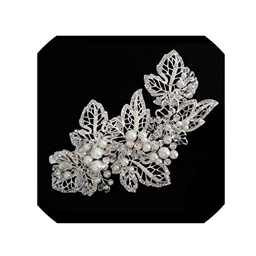 (Gothic Style Big Size Ladies Women Hair Decoration Clip Ball Party Dress Accessories Hair Comb Dancing Headpiece)