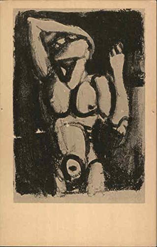 Acrobat Lithograph, 1st state Museum of Modern Art Original Vintage Postcard