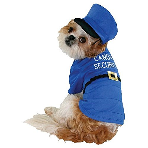 Target Referee Costume (Candy Security Dog Costume Pet Tee Halloween T-Shirt Small)