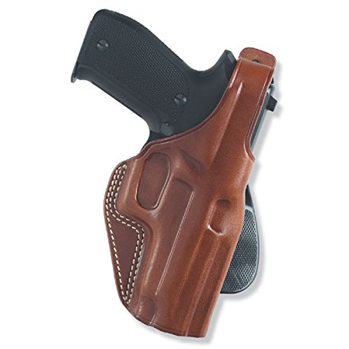 Galco PLE226 Unlined Paddle Gun Holster for Glock 19, Right, Tan ()