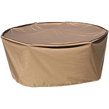 amazon com patio essentials premium heavy duty round patio table