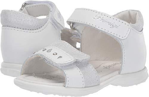 Primigi Kids Baby Girl's PBT 34070 (Infant/Toddler) White/Silver 20 M ()
