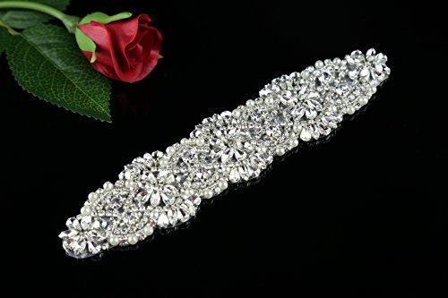 QueenDream Rhinestone Crystal Applique Accessory