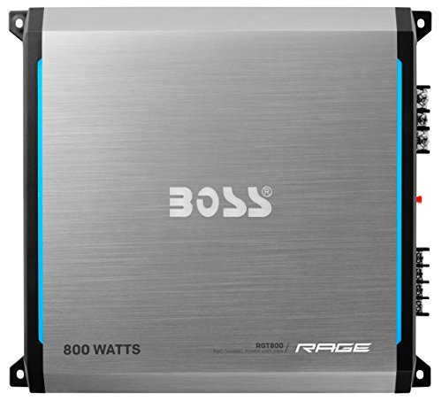 BOSS AUDIO RGT800 Rage 800-Watt Full Range, Class A/B 2 to 8 Ohm Stable 2 Channel Amplifier with Remote Subwoofer Level Control (Gta 4 Platinum Hits compare prices)