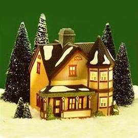 Dept 56 New England Village Jeremiah Brewster House (56570) by Department 56