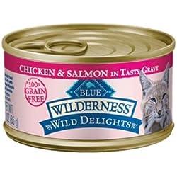 Blue Buffalo Wilderness Wild Delights Chicken & Salmon Recipe - 24 x 3oz