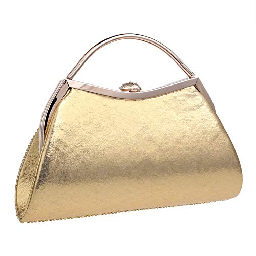 Pearls Clutch Chain Purse Gold Dress Handbag For Wedding Evening Womens Bags BfSP84qB6