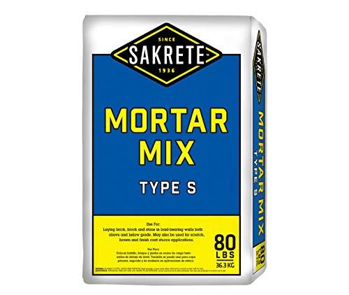 (Sakrete Mortar/Stucco Mix Type S (50lb Pail))