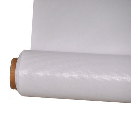 CowboyStudio 107 Inch x 24 Feet Seamless White Vinyl Background (VL-W24) by CowboyStudio
