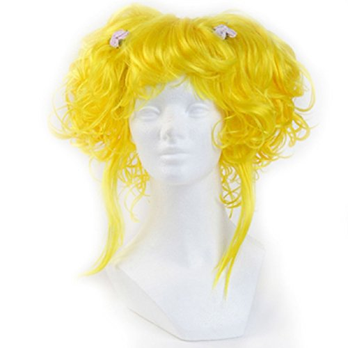 Yellow Clown Wig - 9