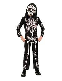 Rubies Costume Kid's 884784 Skeleton, Multi, Small