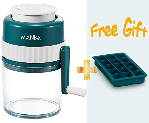 MANBA Manual Ice Shaver and Snow Cone Machine