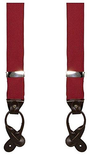 Rouge 40 Solides De Bretelles Colori xHIq04R