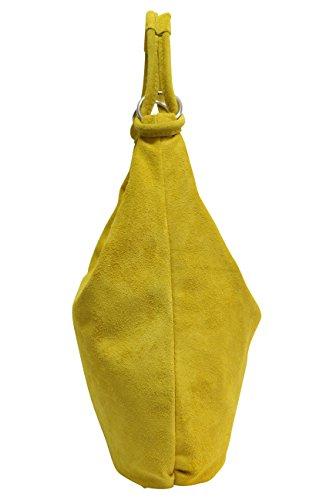 hombro Moda XX amarillo Ante al Large de Bolso AMBRA para mujer fPatdqfwx