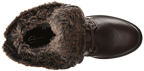 de Dark invierno Clarks Hasta arranque Reunite Gtx Brown Leather wqxRYSI