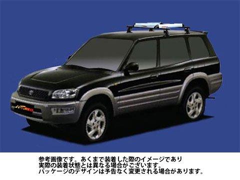 システムキャリア RAV4 型式 SXA11W SXA15G SXA16G RA4 ルーフ標準 1台分 タフレック TUFREQ B06Y14N58H