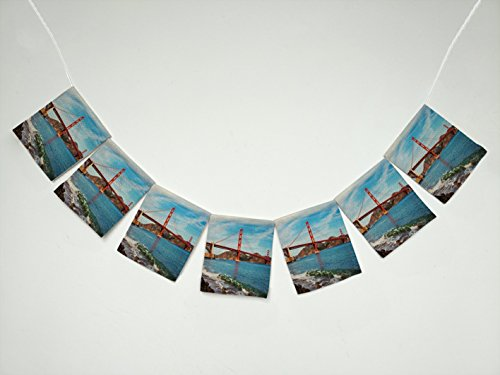 Ocean Seascape Golden Gate Bridge in San Francisco,
