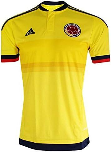 adidas Camiseta 1ra Colombia 2015-2016 (M): Amazon.es: Deportes y aire libre