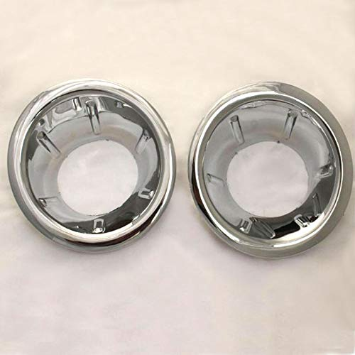 TOOGOO Front Fog Light Cover Abs Chrome for Navara//Frontier D40 07-13
