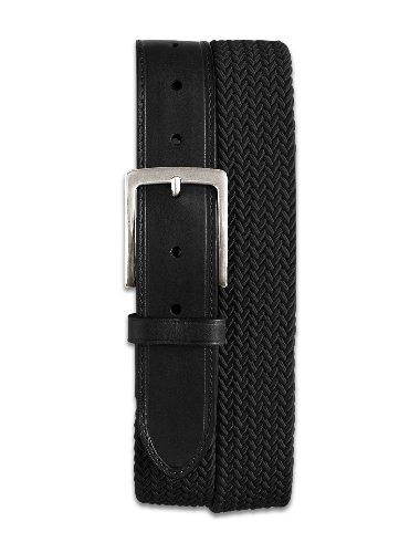 Harbor Bay Big & Tall Stretch Braided Leather Belt