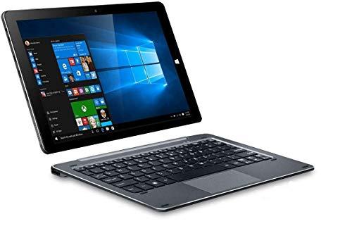 ChuwiUSA HI10 Air Tablet,10.1 inch Intel Cherry Trail X5 Tablet PC,4GB+64GB Windows 10 OS, WiFi, BT4.0, 2K Resolution Screen with Detachable Keyboard Docking ...