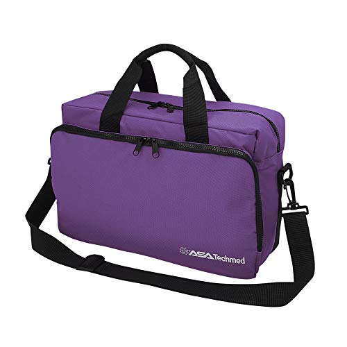 Nurse/Physician Nylon Medical Equipment Instrument Bag (Purple)