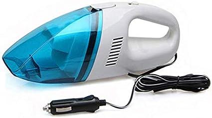 مكنسة كهربائية محمولة للسيارة 60 واط ميني 12 فولت - ازرق ابيض