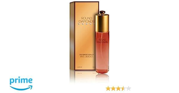 Amazon.com : Round Diamonds Perfume - Our Impression of White Diamonds: Size 3.3 Ounce : Beauty