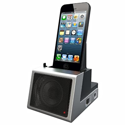 Speaker Cradle with Rechargeable Battery - Retail Packaging