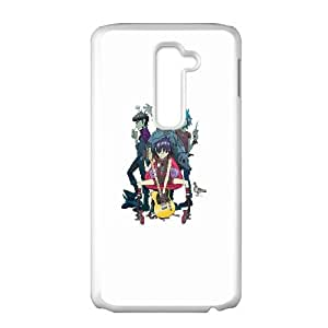 Gorillaz Band Characters LG G2 Cell Phone Case White DIY GIFT pp001_8015094