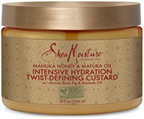 Shea Moisture Twist defining Custard Moisturizer
