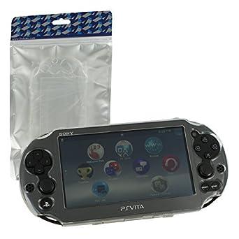Carcasa rígida de cristal de ZedLabz Carcasa para Sony PS Vita 2000 slim - transparente