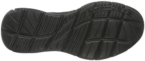Skechers Usa Mens Calze Slip-on Mocassino Nero