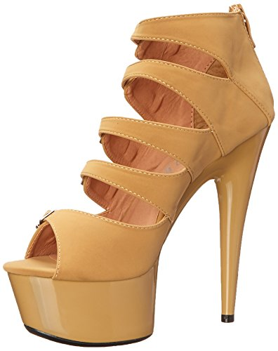 Ellie Shoes Womens 609-una Boot Nude