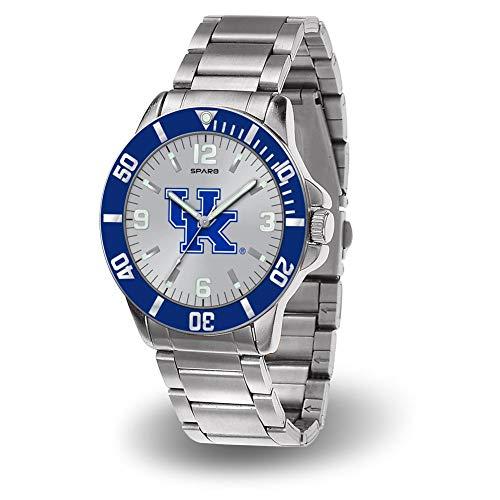 Rico Kentucky Wildcats NCAA Key Watch with Stainless Steel - Wildcats Sport Kentucky Watch Steel
