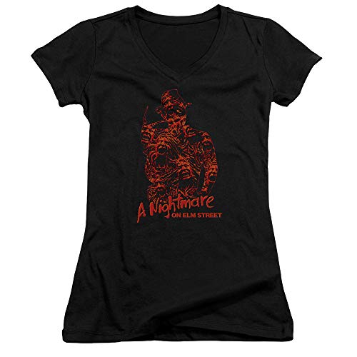 di donne donne Of Street Shirt On Chest giovani Souls colore T Elm Nightmare per 7pqP4wnxTq