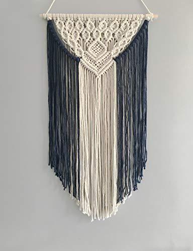 Youngeast Handmade Boho Macrame Wall Hanging Woven Craftmanship 16.9 x 30 Inches -