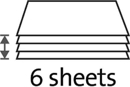 Bis DIN A3, 6 Blatt Schneidleistung Dahle 508 Papierschneider blau