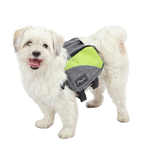 Petsfit Dog Travel Camping Backpack Saddle Bag Rucksack